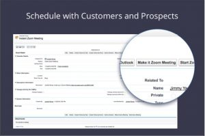 Zoom integration Salesforce
